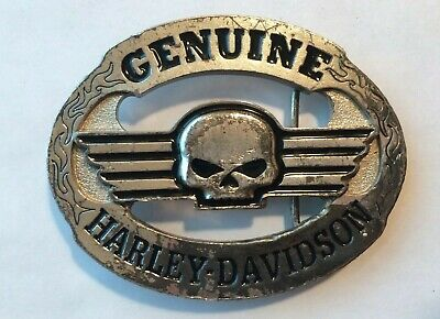 Vintage Harley Davidson Belt Buckle Willie G 2006 Skull Genuine Limited edition