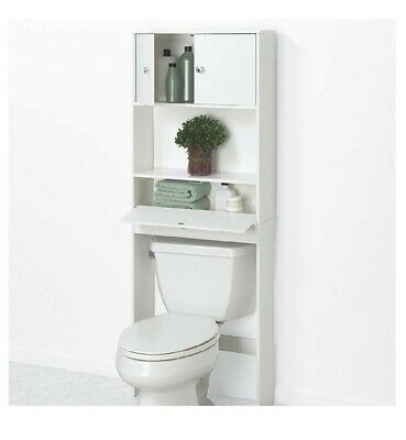 Over The Toilet Bathroom Cabinet Bath Space Saver Storage