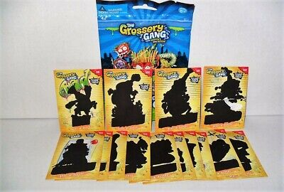 THE GROSSERY GANG TRADING CARDS HEAT N REVEAL CARD #110