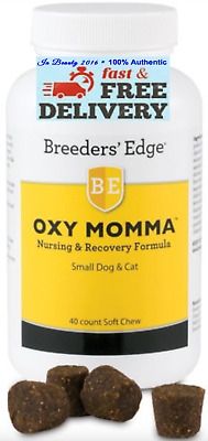 Breeder's Edge Oxy Momma - 40 count Soft Chews for Small Dog & Cat