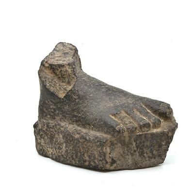 An Egyptian Granite Foot, Middle Kingdom, ca. 2000 - 1800 BC