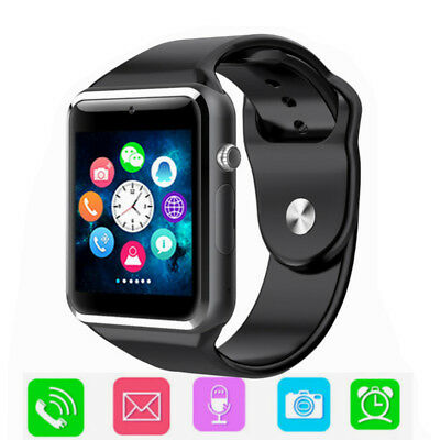 A1 W8 Smart Wrist Watch Bluetooth GSM Phone Camera Sleep Monitor For Android iOS