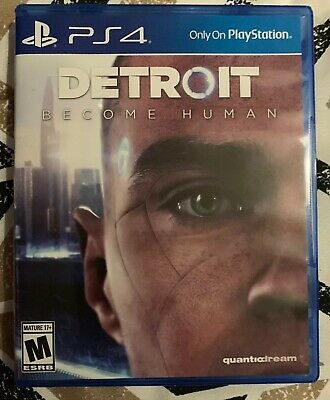 Detroit Become Human (PlayStation 4, PS4) Complete!  Free Shipping!