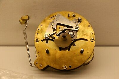 A206-010 Seth Thomas Hermle 13103035 Clock Movement 8 Day with 3 Side Hammers