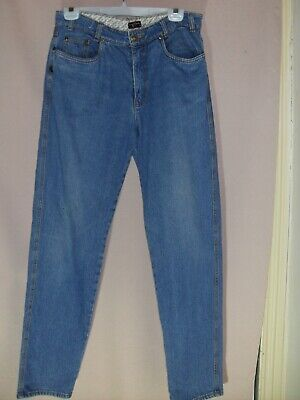 1980's Vintage High Waisted Jeans with Tapered Legs.