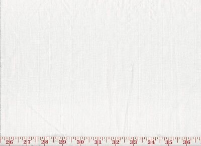Linen Overstock White Sheer Drapery Fabric by Roth & Tompkins Ashta Stripe