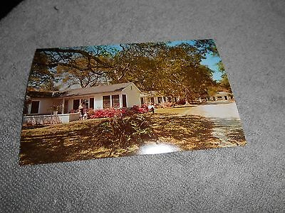 Vintage -- Postcard - Parkway Terrace Motel Us 90 Gulf Of Mexico