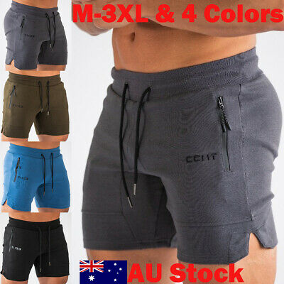 Men's GYM Sport  Shorts Training Running Workout Casual Jogging Pants Trousers