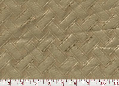 Beautiful Stria Lattice  Clarence House Drapery Upholstery Fabric Lucy CL Yellow