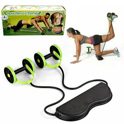 Abdominal & Full Body Workout Power Roll Ab Trainer Home Gym Workout