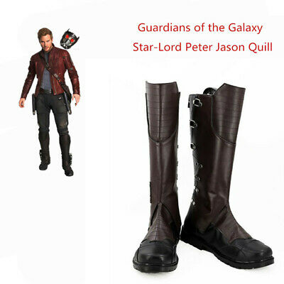 Guardians of the Galaxy Shoes Star-Lord Boots Peter Jason Quill Accessories Prop