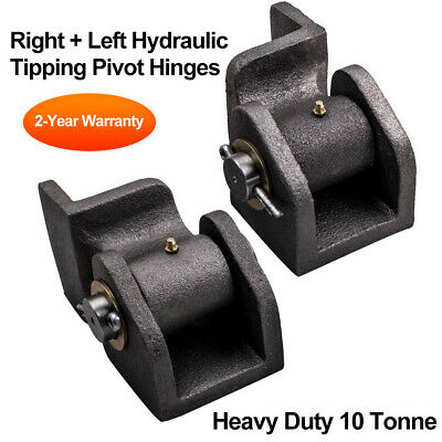 2x Hydraulic Tipper Trailer hinges Heavy duty Hydraulic Tipping pivot hinge kit
