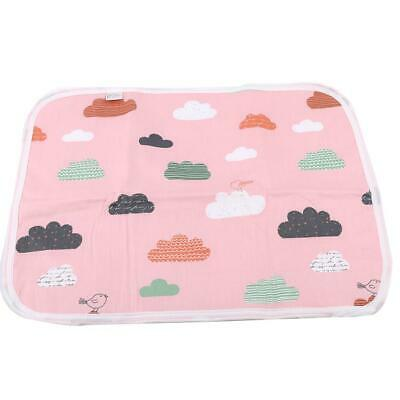 Infant Reusable Nappies Diaper Surface Washable Baby Cloth Nappy Mat HD