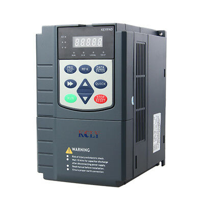 10HP 3Phase 380VAC 7.5KW Variable Frequency Drive Current VFD Vector Control