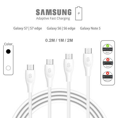 UNBREAKcable Micro USB Cable Fast Charging For Samsung Galaxy S7 Edge S7 S6 HTC