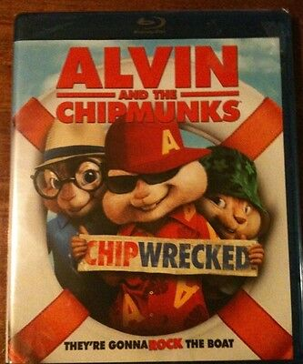 Alvin And The Chipmunks: Chipwrecked (Blu-ray 2012 1-Disc) BRAND NEW SEALED
