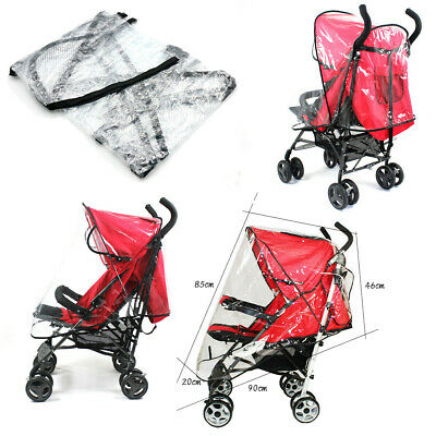 Universal Rain Shade Cover Raincover For Kids Baby Buggy Pushchair Stroller Pram