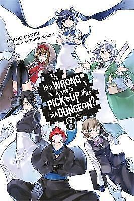 Is It Wrong to Try to Pick Up Girls in a Dungeon?, Vol. 8 (light novel) by...