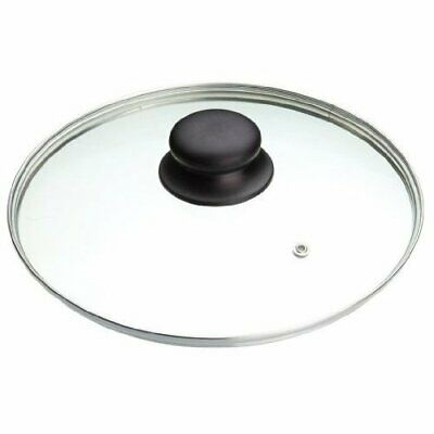 Replacement Vented Frying Fry Pan Saucepan Glass Lid Cover - 30cm …