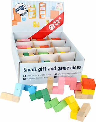 Construction Cube Display   - Small Foot - 10687