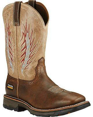 81235aa33d3a Ariat Workhog Mesteno II Cowboy Work Boot - Soft Square Toe - 10018556