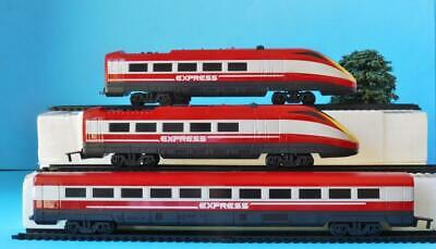 HORNBY JUNIOR LOCOS + CENTRE COACH from EXPRESS TRAIN SET R1215 OO/HO SUIT JOUEF