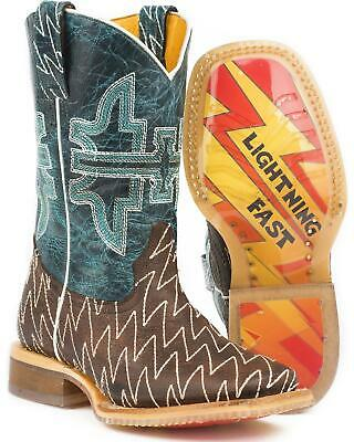 751734dbe18 TIN HAUL BARBED Wire Butcher Shop Cowboy Boot - Square Toe - 14-020 ...