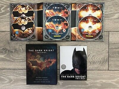 The Dark Knight Trilogy DVD Limited Edition BOXSET