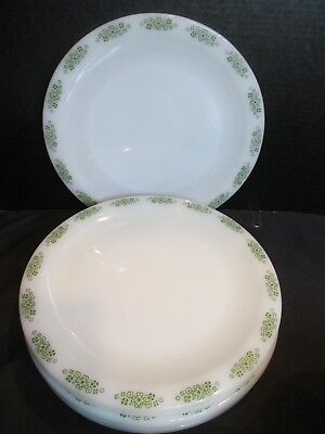 Anchor Hocking Place Setters Collection Spring Wood FireKing 7 Dinner Plates