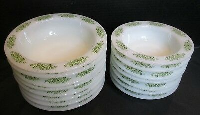 Anchor Hocking Place Setters Collection Spring Wood FireKing 15 Pieces Bowls