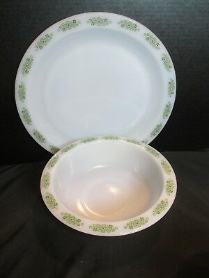 Anchor Hocking Place Setters Collection Spring Wood FireKing Chop Plate Serving