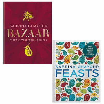 Sabrina Ghayour Collection Bazaar Feasts 2 Books Collection Set Brand NEW