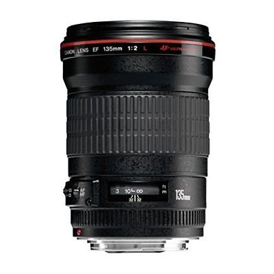 Excellent! Canon EF 135mm f/2L USM Fixed - 1 year warranty