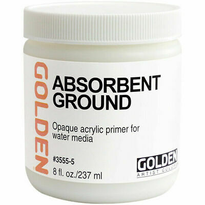Golden Absorbent Ground Primer for Acrylic & Watercolour on Any Surface 237 ml