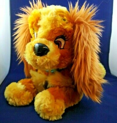 Disney Lady Dog Disney Parks Plush Lady Stuffed Animal from Lady and The Tramp