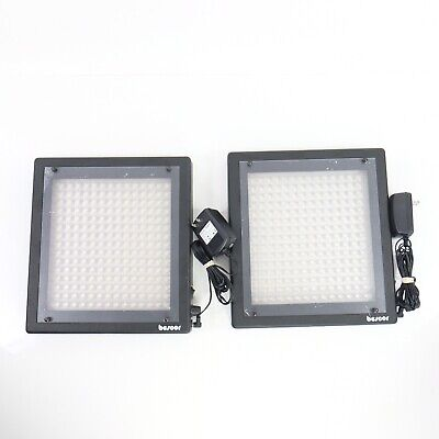 Bescor LED Light Panel Video Continuous Lighting Bundle For Parts