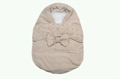 36e95088f NWT NEW Armani Junior baby girls beige padded nest bunting sleeping bag