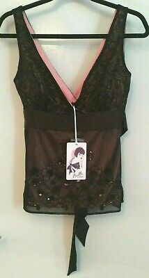 Belle By Oasis Brand New With Tags Size uk 10 sexy black and pink number