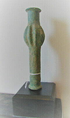 Finest Circa 1200-800Bce Ancient Luristan Bronze Mace Head Battle Object