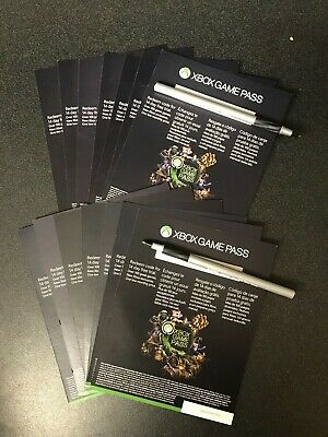 Microsoft Xbox Game Pass 6 Month Trial 14x 14 Day Cards (184 Days) UNUSED