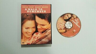 A Walk to Remember (DVD, 2002, Widescreen, Snapcase)