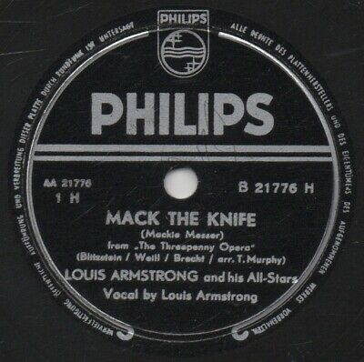 """78er Jazz Louis Armstrong All-Stars """"Mack The Knife"""""""