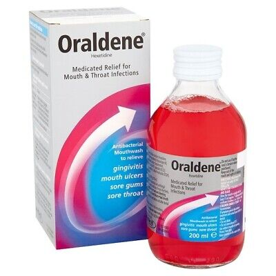 ORALDENE ORIGINAL MOUTHWASH - Relief for Mouth and Throat Infections 200ml