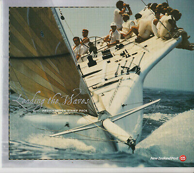 New Zealand Stamp Sets Fdcs 2002 Presentation Pack America's Cup