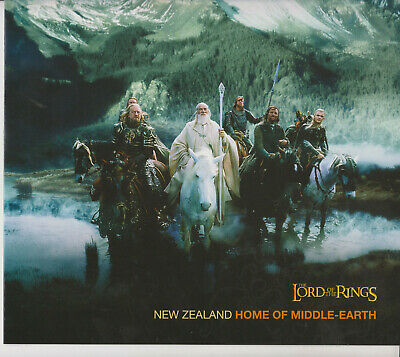 New Zealand Mnh Set Fdc 2004 Presentation Pack Lord Of The Rings Middle Earth