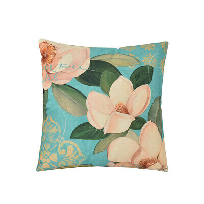 Vintage Flower Bloom Pillowcase Home Sofa Decor Country Style Cushion Cover shan