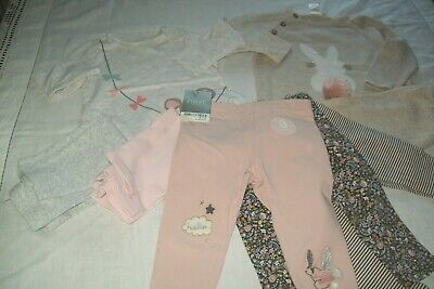 Baby girl clothes bundle Next/F&F/H&M 6-9m -combined postage available