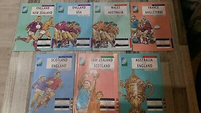 1991 Rugby World Cup programmes