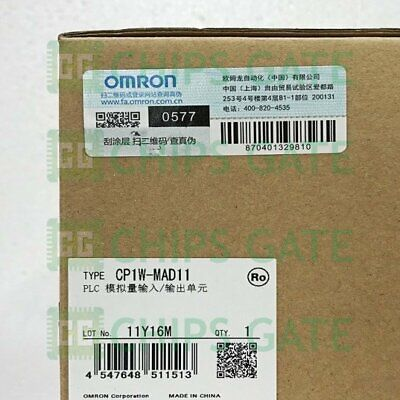 1PCS Omron PLC Analog I/O Module CP1W-MAD11 CP1WMAD11 NEW IN BOX Fast Ship