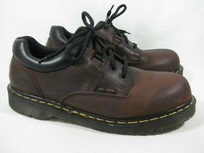 8cd7e7e930 Vintage Dr Marten Anti Static Oxford US Men size 11 Brown Made in England